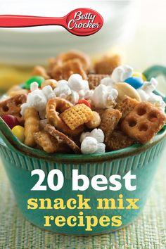 Betty Crocker 20 Best Snack Mix Recipes  by Betty Crocker ($1.00)