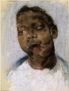 Head of a Wounded Soldier. Henry Tonks - Tonks drew these beautiful and terrifying pictures of wounded soldiers in the Cambridge Hospital in Aldershot in Ww1 History, World History, World War One, First World, Drawing Sketches, Drawings, Wwi, Macabre, Amazing Art