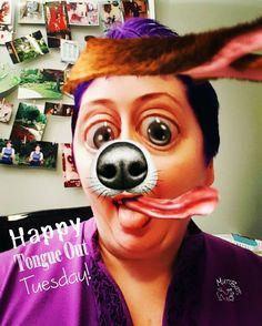Happy #TongueOutTuesday! #muttpic #MuttButs