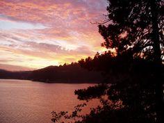 Lake Gregory in the San Bernardino Mountains of Southern California