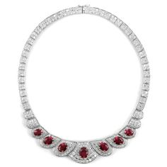 Addison's Fancy Necklace - Fake Ruby Inca. $252.07. Save 26%!