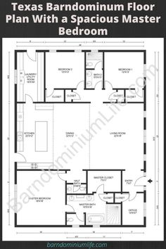 Barndominium Floor Plans, Barn Homes Floor Plans, Metal House Plans, Pole Barn House Plans, Pole Barn Homes, Barn Plans, New House Plans, Dream House Plans, Modern House Plans