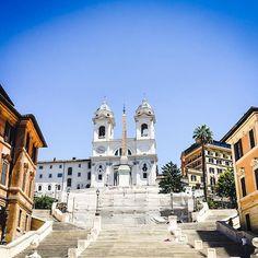 #spanishsteps #piazzadispagna #rome #roma #italy #italie #italia #europe #europa #baroque #art #artsy #architecture #cityscape…