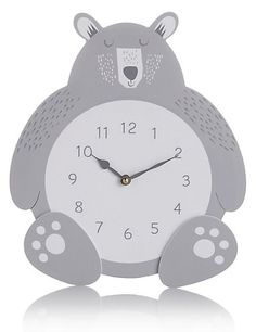 Bear Hanging Clock | M&S