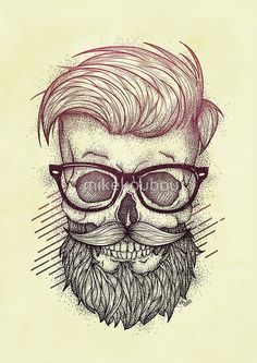 Hipster is Dead • Buy this artwork on apparel, stickers, phone cases et more.