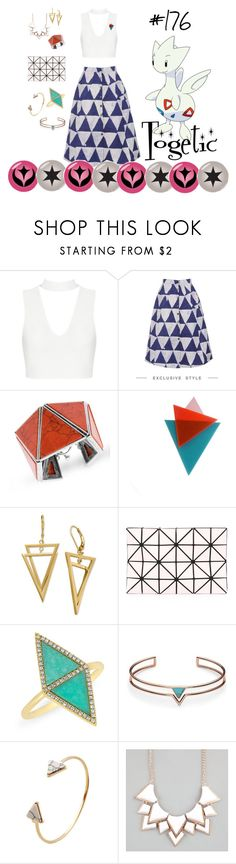 """""""Togetic - #176"""" by malecsizzyclace ❤ liked on Polyvore featuring Steve Madden, Bao Bao by Issey Miyake, Anne Sisteron, FOSSIL, Full Tilt, Pokemon, 176, johto and togetic"""