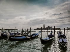 Venice, gondola by Lidia, Leszek Derda on Small Island, World Heritage Sites, Venice, Places To Visit, Boat, Italy, River, Landscape, Architecture