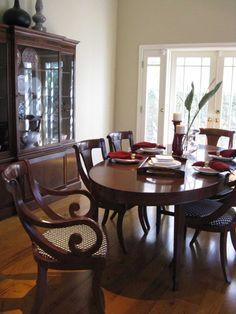 Regency British Colonial Dining Room
