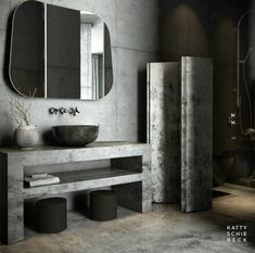 A lot of concrete BATHROOM GORGEOUSNESSSSNESSNESSssss