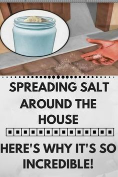 Spreading Salt Around The House – Here's Why It's So Incredible! http://wp.me/p8kXNw-iR