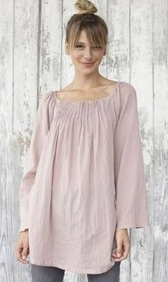 Peasant blouse like