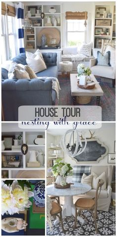 Notice the cornice...House Tour-Nesting With Grace