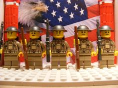 Electronics, Cars, Fashion, Collectibles, Coupons and Lego Soldiers, Lego Ww2, Lego Army, Lego Military, Cool Lego, Cool Toys, Lego Calendar, The Wonderful Company, Lego Minion