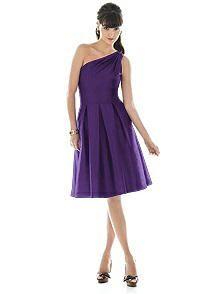 purple bridesmaids dresses : PANTONE WEDDING Styleboard  | The Dessy Group