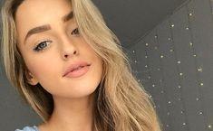 Touchante déclaration d'amour d'Alicia Moffet qui s'ouvre sur son nouvel amoureux... Selfie, Hair, Blond Girls, Love Birds, Strengthen Hair, Selfies