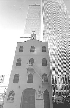St. Nicholas Greek Orthodox Church stood in the shadow of the World Trade Center's Twin Towers until being felled when Tower 2 collapsed after the terrorist attacks on Sept. 11, 2001.