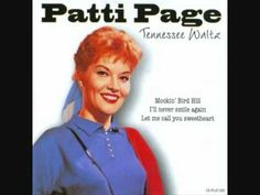 """1951 """"Would I Love You (Love You, Love You) by Patti Page"""