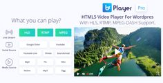 Bzplayer Pro V1.3  Live Streaming Player WordPress Plugin