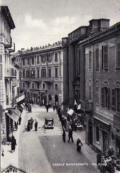 Casale Monferrato, Via Roma nel1935
