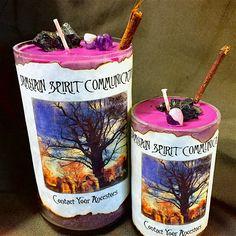 Samhain Spirit Communication Candle