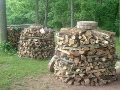 Holtz Hausen Log Pile