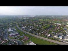 Bundesstraße B404 - Richtung Kiel - wir schauen aus der Höhe - 4K HD - D...