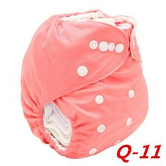Infant Baby Cloth Diaper Cover Bamboo Velour Fitted Diaper Washable Brand Baby Nappy Reusable Baby Diapers #Affiliate