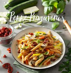 Are you ready for Spring? We have the perfect seasonal pasta to get you started: Penne Primavera with grilled seasonal vegetables and sun-dried tomatoes. Not only is it delicious, but each ingredient is fresh and full of flavor.