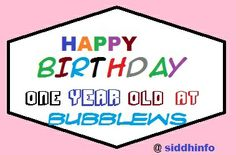 Completed One Year at Bubblews - News - Bubblews