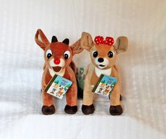 CVS 12inch Plush Rudolph Red Nose Reindeer Clarice Island of Misfit Toys MWT LGB Listing in the Other,TV,TV & Movie Related,Toys & Hobbies Category on eBid United States