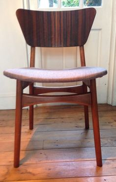 Mid Century 1950s Set 4 Dining Chairs Rare Butterfly Back Retro (Table Available