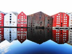 Nidelven, Trondheim Norway