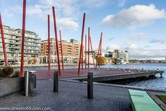 The Grand Canal Square - Dublin Docklands: Designed by the internationally acclaimed architect, Daniel Libeskind, Grand Canal Square comprises three exceptional new fourth generation office blocks complemented by a stunning new theatre and a superb public concourse.
