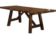 picture of Mango Burnished Walnut Dining Table  from Dining Tables Furniture