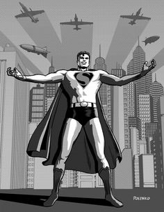 CLASSIC SUPERMAN by niknova