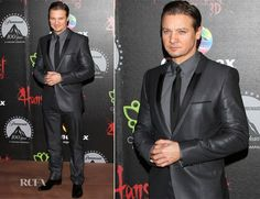 Jeremy Renner In Hugo Boss – 'Hansel and Gretel: Witch Hunters' Mexico Premiere