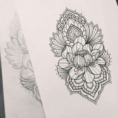 Best Flowers Tattoo For Women Sketch 32 Ideas Backpiece Tattoo, Tattoo L, Arrow Tattoo, Lace Tattoo, Tattoo Quotes, Stencils Tatuagem, Tattoo Stencils, Unique Tattoos, Beautiful Tattoos