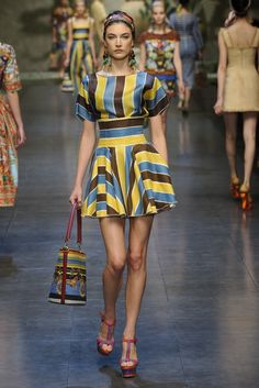 Dolce & Gabbana RTW Spring 2013 - Slideshow - Runway, Fashion Week, Reviews and Slideshows - WWD.com