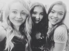 Photo: Piper Curda With Rowan Blanchard and Sabrina Carpenter