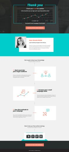 194 Best Instapage Landing Page Templates images Page template