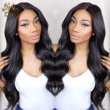 7A Glueless Full lace wigs Brazilian Virgin Hair Body Wave Lace Front Wig Full Lace Human Hair Wigs for Black Women(China (Mainland))
