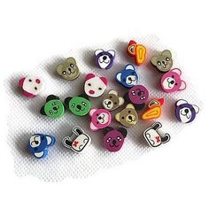 20 perles fimo animaux kawaii lot 02