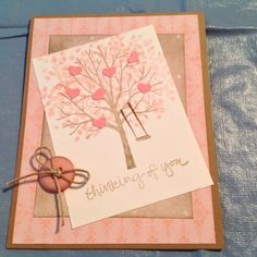Card by Margaret Smith  Sheltering Tree Stamp Set by Stampin' Up!