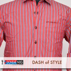 Celebrate fridays in a cool and casual way with Donear NXG  #style #fashion #clothing #men