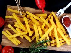 Patatine fritte di  polenta! Vegan