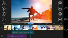 تطبيق PowerDirector لتعديل ومونتاج مقاطع الفيديو