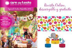 REVISTA DE FIESTAS INFANTILES ONLINE. Para que los niños se lo pasen genial este verano! http://www.airedefiesta.com/1994-revista-de-fiestas-infantiles.html