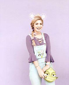 Rapunzel Outfit, Rapunzel Costume, Disney Rapunzel, Disney Diy, Disney Girls, Disney Princesses, Cute Disney Outfits, Disney World Outfits, Disney Themed Outfits