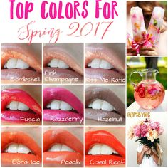 Pantone released their top colors for Spring/Summer 2017 and here are the hottest coordinating LipSense shades! Nudes, Light Pinks, Bright Pinks, and Corals are going to be the biggest hits.   To see more pictures of these colors visit my webpage's:  www.senegence.com/sassymassey  kimberlydmassey.com  sassymassey.us  Sassy Massey Makeup & Kiss