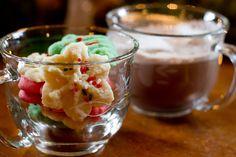 Spritz Cookies - Poet in the Pantry Spritz Cookies, Yummy Cookies, Holiday Treats, Truffles, Christmas Cookies, Cookie Recipes, Food To Make, Pantry, Nom Nom